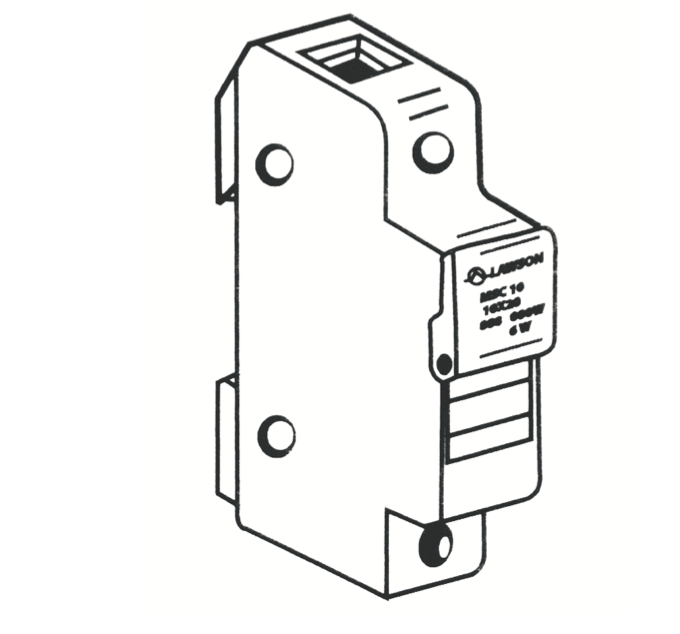 400/500/690 Volt Fuse-Holders - Type MS
